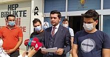 AK Parti Urfa Gençlik Kolları Erol Mütercimler'e Suç Duyurusu