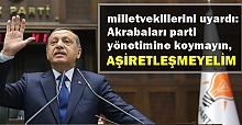 Urfa'daki siyasetçiler bu uyarıya dikkat!