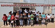 Büyükşehir'in Kitapları Ceylanpınar Muratlı kırsal mahallesine kadar gitti