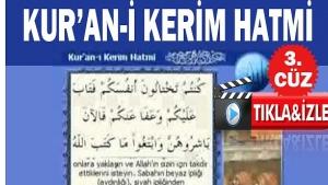 Ramazan Cüzü-2019! KURAN I KERIM HATMİ 3. CÜZ