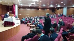 Şanlıurfa Valiliğinde 2017 Yılının Son Halk Günü Toplantısı Yapıldı