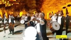 Urfa'da Davular Bir Araya Gelerek Şow Yaptı