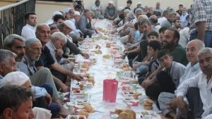 Halepli Bahçe Mahallesi 7. Geleneksel İftar Yemeği