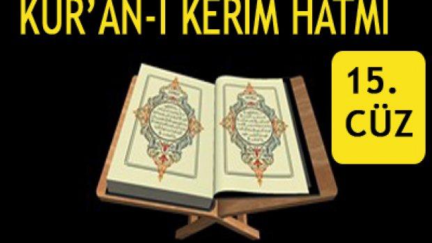 Kur'an-i Kerim 15. Cüz Hızlı hatim...